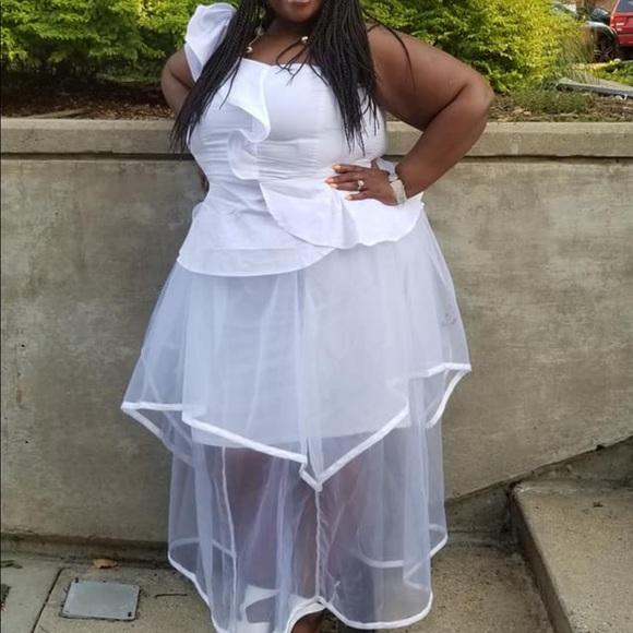 Ashley Stewart Dresses & Skirts - White Ashley Stewart outfit